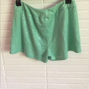 Kensie Shorts - Kensie Sequins Shorts